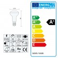 Leuchtmittel LED E14 R50 MILK SMD 5W=45W 410lm warmweiss
