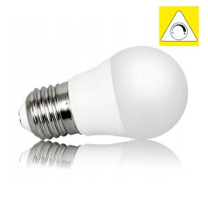 LED Leuchtmittel E14 G45 6W milk warmweiss DIMMBAR KWAZAR