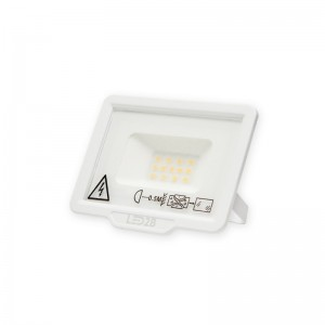 LED Floodlight Strahler 10W 230V IP65 MH warmweiss weiss