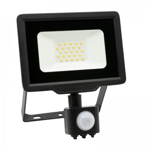LED Floodlight Strahler 20W 230V IP65 XENO neutralweiss mit Sensor