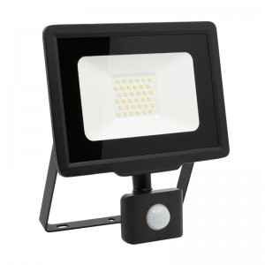 LED Floodlight Strahler 30W 230V IP65 XENO neutralweiss mit Sensor