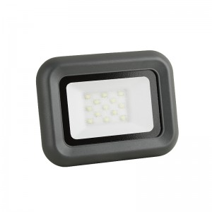 LED Floodlight Strahler 10W 230V IP65 HELI neutralweiss