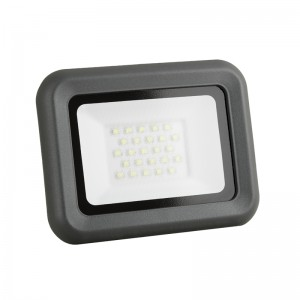 LED Floodlight Strahler 20W 230V IP65 HELI neutralweiss