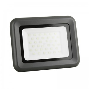 LED Floodlight Strahler 30W 230V IP65 HELI neutralweiss