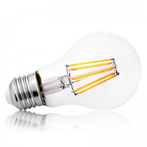 Leuchtmittel LED Filament E27 A60 8W=70W 800lm warmweiss