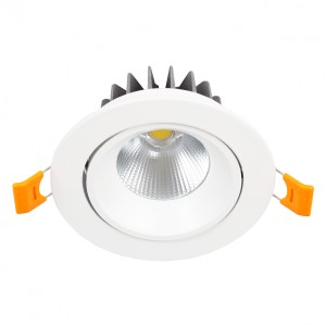 Downlight LED Einbauspot schwenkbar 10W 230V IP20 KEN-10