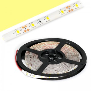 LED Strip 3x2835 / 5cm IP55 5m Rolle / 24W warmweiss