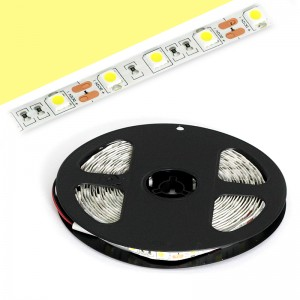 LED Strip 3x5050 / 5cm IP20 5m Rolle / 72W warmweiss
