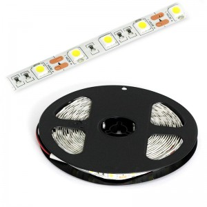 LED Strip 3x5050 / 5cm IP20 5m Rolle / 72W kaltweiss