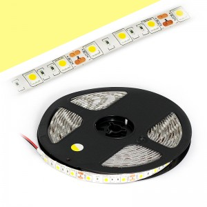 LED Strip 3x5050 / 5cm IP65 5m Rolle / 72W warmweiss
