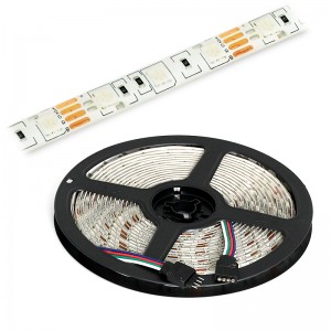 LED Strip 3x5050 / 10cm IP65 5m Rolle / 72W RGB