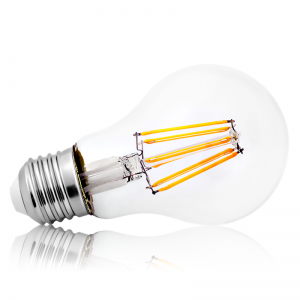 Leuchtmittel LED Filament E27 A60 9,5W Warmweiss