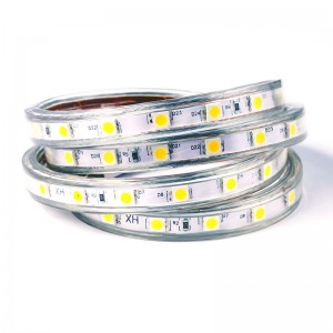 LED Strip 230V 60x6060 / 1m IP67 1M-Abschnitt warmweiss