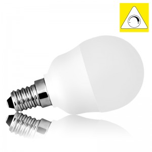Leuchtmittel LED E14 G45 MILK SMD 6W warmweiss dimmbar