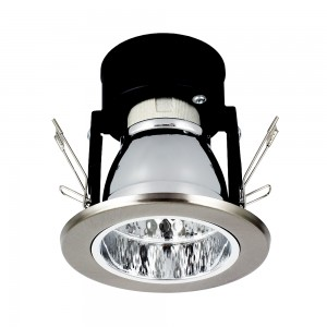 Einbauleuchte DOWNLIGHT E27 DL-125 nickel matt