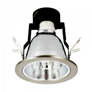 Einbauleuchte DOWNLIGHT E27 DL-140 nickel matt