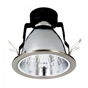 Einbauleuchte DOWNLIGHT E27 DL-160 nickel matt