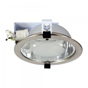 Einbauleuchte DOWNLIGHT E27 DL-2580 nickel matt