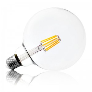 Leuchtmittel LED Filament E27 G125 8W warmweiss