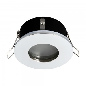 Einbauspot LED 230V IP44 RIK.5 chrom