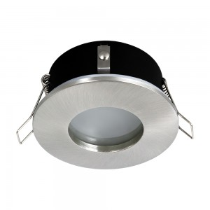 Einbauspot LED 230V IP44 RIK.5 nickel matt