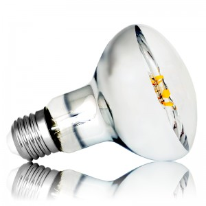 Leuchtmittel LED Filament E27 R80 8W=65W 800lm warmweiss