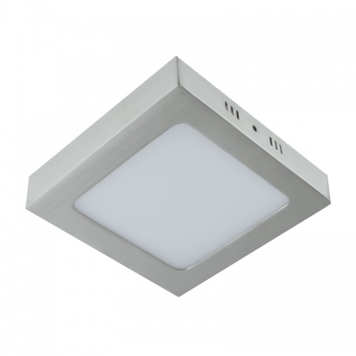 Aufbaupanel LED 6W 230V MORIN eckig nickel matt