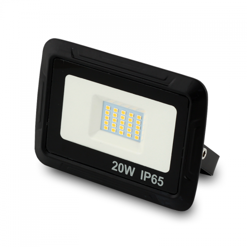 LED Floodlight Strahler 20W 230V IP65 MH warmweiss