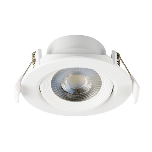 Einbauspot LED Downlight 230V IP20 7W KARO.7 neutralweiss schwenkbar